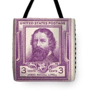 James Russell Lowell Tote Bag