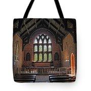Jamestown Church Interior Tote Bag
