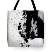 January 18, 2010 - Ross Sea, Antarctica Tote Bag by Stocktrek Images