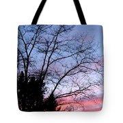 January Silhouette Tote Bag