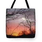 January Sunrise 5 Tote Bag