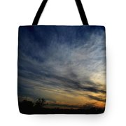 January Sunset 2012 Tote Bag