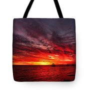 January Sunset Tote Bag