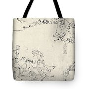 Japan: Animals As Humans Tote Bag