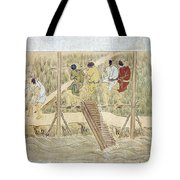 Japan: Irrigation, C1575 Tote Bag