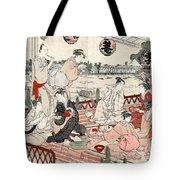 Japan: Restaurant, C1786 Tote Bag