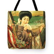 Japan Steamship Poster  1914 Tote Bag