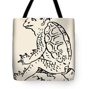 Japanese Folklore: Kappa Tote Bag