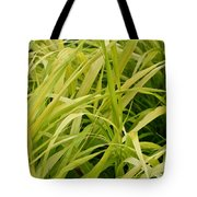 Japanese Forest Grass Tote Bag