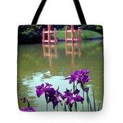 Japanese Garden Brooklyn New York Tote Bag