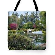 Japanese Garden Panorama 1 Tote Bag