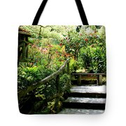 Japanese Garden Retreat Tote Bag