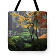 Japanese Gardens Fall Tote Bag