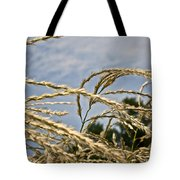 Japanese Silver Grass Tote Bag