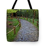 Japanese Tea Garden Path Tote Bag