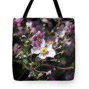 Japanese Windflowers Tote Bag