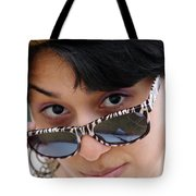 Jasmin Star Tote Bag