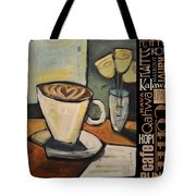Java Coffee Languages Poster Tote Bag