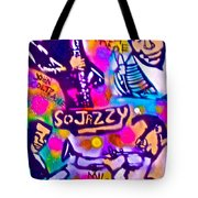 Jazz 4 All Tote Bag