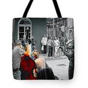 Jazz In New Orleans Tote Bag