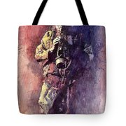 Jazz Miles Davis Maditation Tote Bag