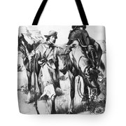 J.c. Fremont And His Guide, Kit Carson Tote Bag