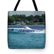 J.d. Byrider Offshore Racing Tote Bag