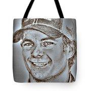 Jeff Gordon In 2010 Tote Bag by J McCombie