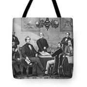 Jefferson Davis, Cabinet Tote Bag by Photo Researchers