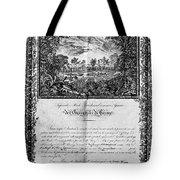 Jefferson: Degree, 1820 Tote Bag