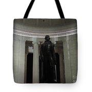 Jefferson In The Dark Tote Bag