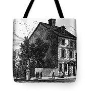 Jeffersons House, 1776 Tote Bag