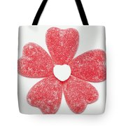 Jelly Candy Heart Flower 1 Tote Bag