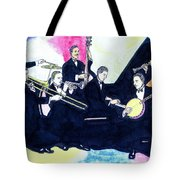 Jelly Roll And The Red Hot Peppers Tote Bag