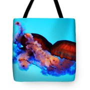 Jellyfish Drama - Digital Art Tote Bag