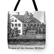 Jemima Wilkinson Tote Bag