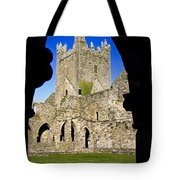 Jerpoint Abbey In Kilkenny Tote Bag