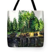 Jersey Pines Tote Bag
