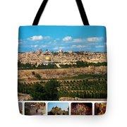 Jerusalem Poster Tote Bag