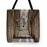 Jerusalem Steps Tote Bag