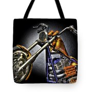 Jesse James Bike Detroit Mi Tote Bag
