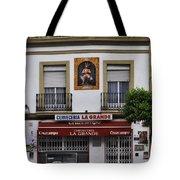 Jesus And The Cerveceria Tote Bag