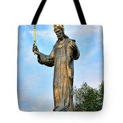Jesus Christ Statue Tote Bag