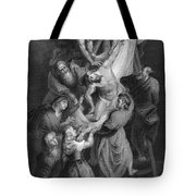 Jesus: Deposition Tote Bag