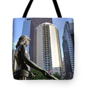 Jesus Of Philadelphia Tote Bag