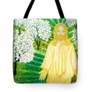 Jesus On Mount Thabor Tote Bag