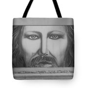 Jesus On The Street Tote Bag