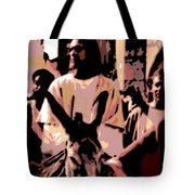 Jesus Rides Into Jerusalem Tote Bag