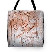Jesus The Good Shepherd - Tile Tote Bag