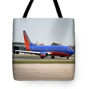 Jet Chicago Airplanes 11 Tote Bag